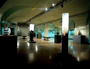 Scorcio dell'allestimento al Museo Archeologico  di Milano, '97