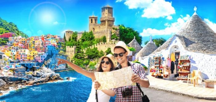 Mơ đi du lịch Ý cùng bạn thân