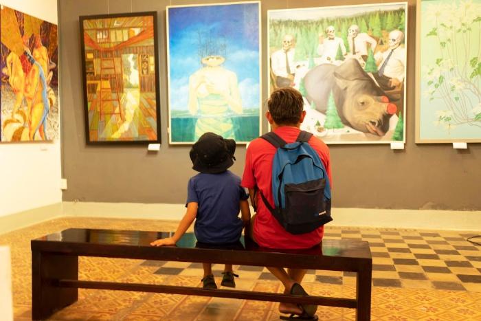 Mộng thấy những hình ảnh về các không gian nghệ thuật không chỉ do tình cảm chi phối mà còn ẩn chứa điềm báo