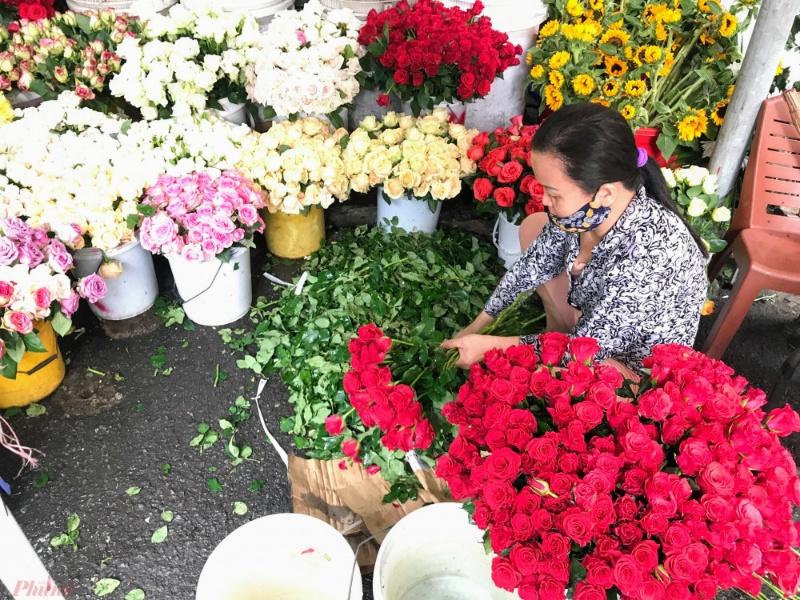 Chiêm bao bán hết sạch hoa trong ngày lễ